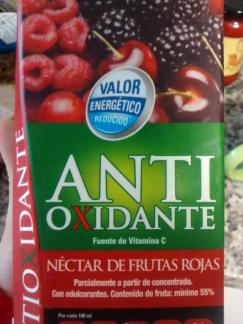 nectar de frutas rojas antioxidante hacendado