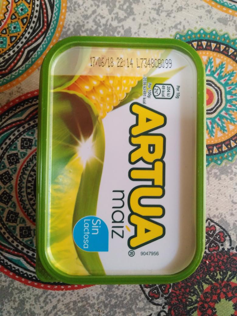 Margarina de maíz sin lactosa (Artua)