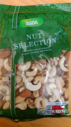 Nut selection Asda