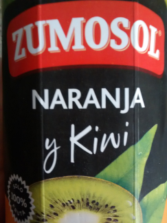 zumo naranja y kiwi zumosol