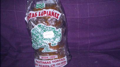 Torta de aceite del algarrobo lupiañez