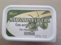 Margarina Ligera con Aceite de Oliva Hacendado