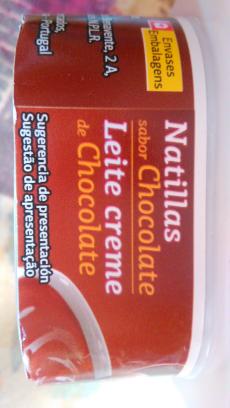 Natillas de chocolate Día
