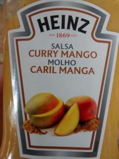 salsa curry y mango heinz
