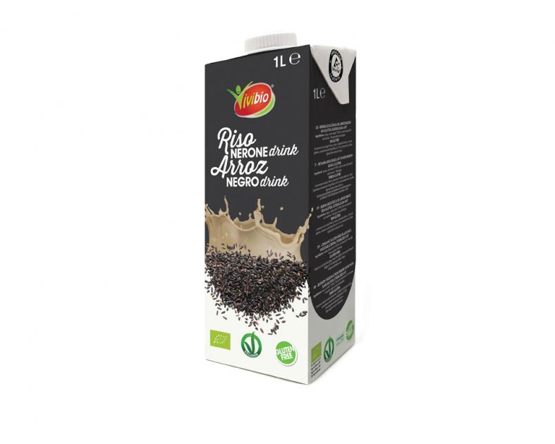 Bebida de Arroz Negro sin gluten Vivibio