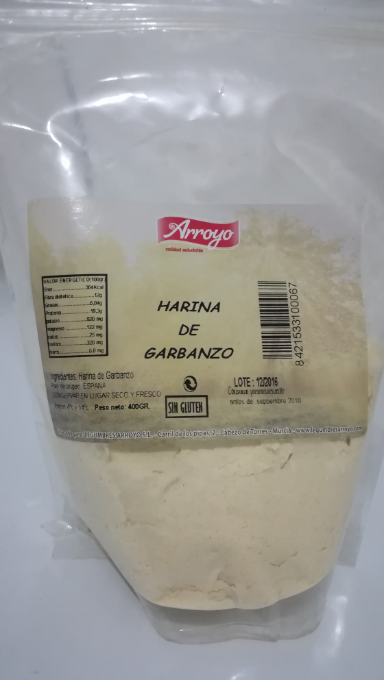Harina de garbanzo Arroyo