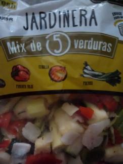 mix de 5 verduras jardinera verdifresh