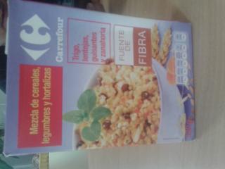 Mezcla de cereales, legumbres y hortalizas Carrefour