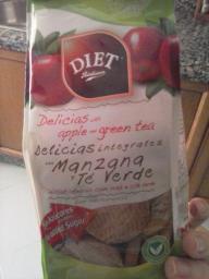 Delicias integrales con manzana y té verde Diet Radisson