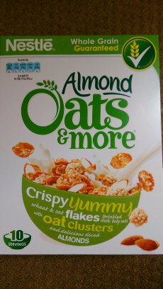 Almond Oats and more