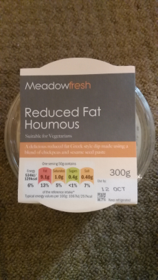 Houmous Lidl Reduced Fat