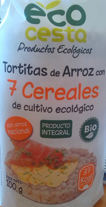 Tortitas de arroz con 7 cereales EcoCesta