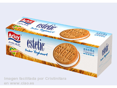 Galletas Estetic Sabor yogur Arluy