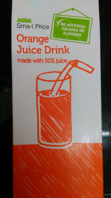 Orange juice Asda