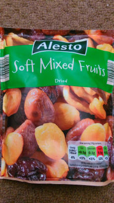 Mixed dried fruits Alesto Lidl
