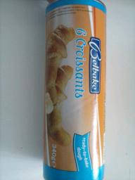 Masa fresca para croissants/croasanes Belbake (Lidl)