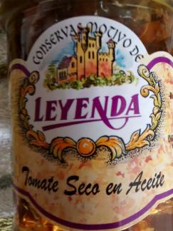 tomates secos en aceite leyenda