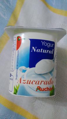 Yogur natural azucarado Auchan
