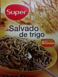 """Salvado de trigo. Marca \""""Super\"""" de \""""El Árbol\"""""""
