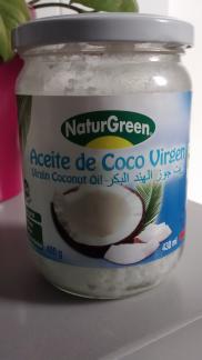 Aceite de coco virgen  NaturGreen