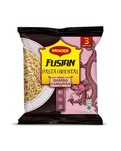 Fusion pasta oriental sabor gamba de Maggi