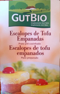Escalopes de Tofu Empanados GutBio
