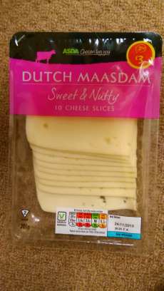 Maasdam cheese Asda