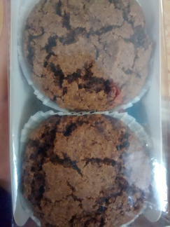 muffin cacao vegano muuglu