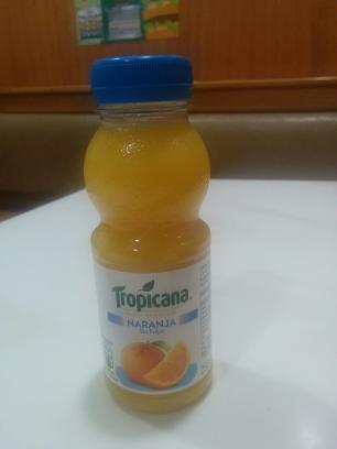 Tropicana de naranja