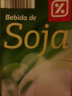 """Bebida de Soja. Marca \""""Día\""""."""