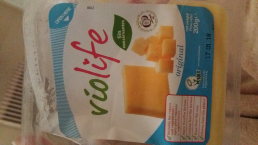 Queso violife original