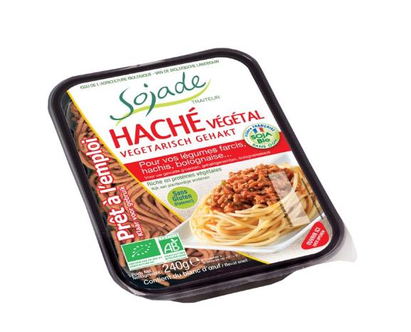 Bandeja de picado vegetal Sojade 240 gr