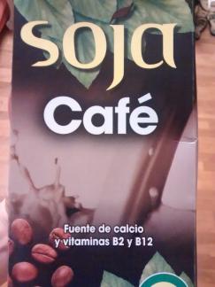 bebida de soja cafe hacendado