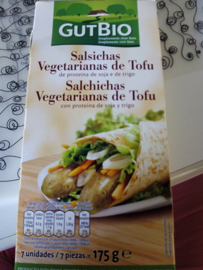 salchichas de tofu gutbio