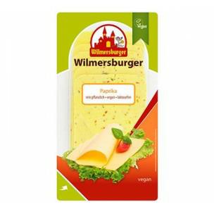 queso vegano sabor paprika (Wilmersburger)