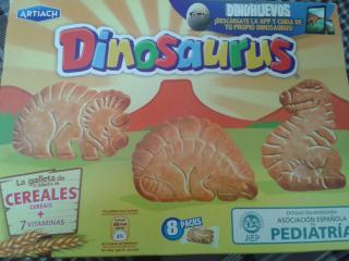 Galletas Dinosaurus