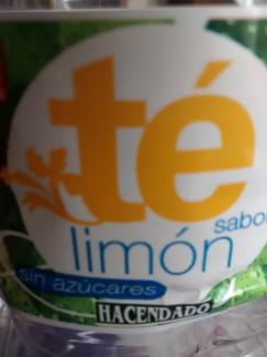 refresco té limón hacendado