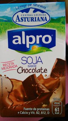 Alpro soja sabor chocolate