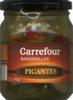 Surtido de encurtidos en banderillas Carrefour