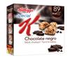 Barritas de cereales Special K chocolate negro