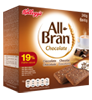 Barritas de cereales All Bran chocolate