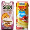 Bebida de soja y zumo sabor fresa-plátano Hacendado