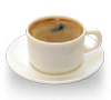 Café con leche de soja y azúcar