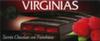 Turrón de chocolate con frambuesa Virginias