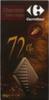 Chocolate negro 72% cacao Carrefour