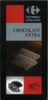 Chocolate negro 80% cacao Carrefour