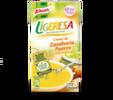 Crema Ligeresa de Zanahoria, puerro y cebolla troceada