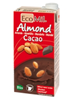 Leche de almendra y cacao EcoMil