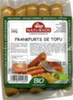 Salchichas Frankfurts de Tofu vegetales Natursoy