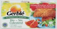 Hamburguesas de soja al estilo provenzal Gerblé